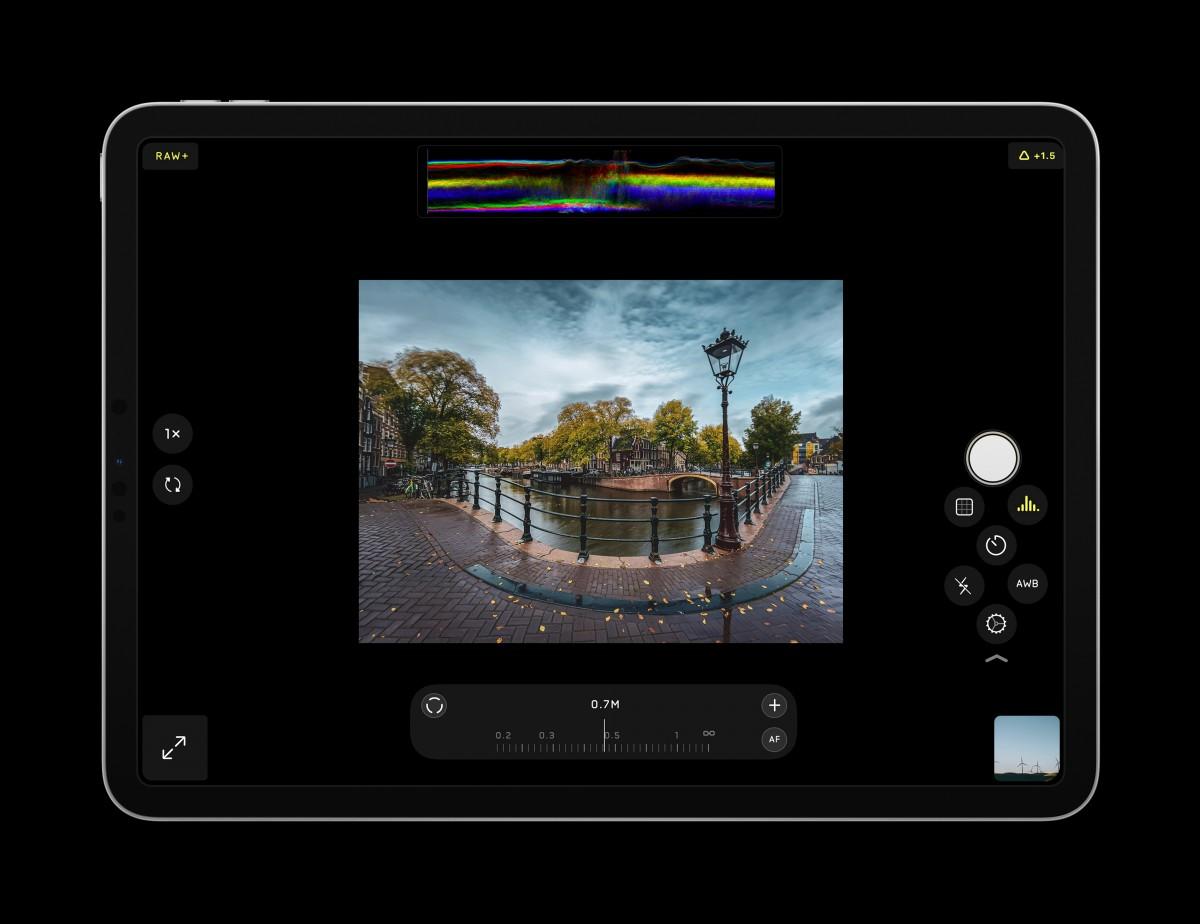 La popular aplicación de cámara para iPhone Halide ya está disponible en iPad
