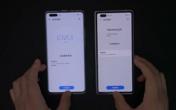 Check this video comparing HarmonyOS and EMUI 11 side-by-side