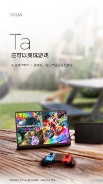 Lenovo Yoga Pad Pro teasers