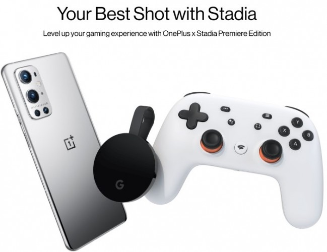 OnePlus is offering Stadia Premiere Edition free with these smartphones