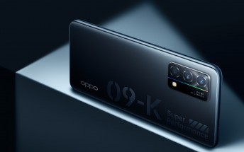Oppo K9 5G announced with Snapdragon 768G SoC, 90Hz screen, and 65W charging