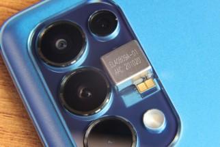 Oppo Reno6 Pro+ X-axis linear motor and camera setup