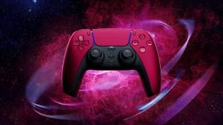 New DualSense colorways: Cosmic Red