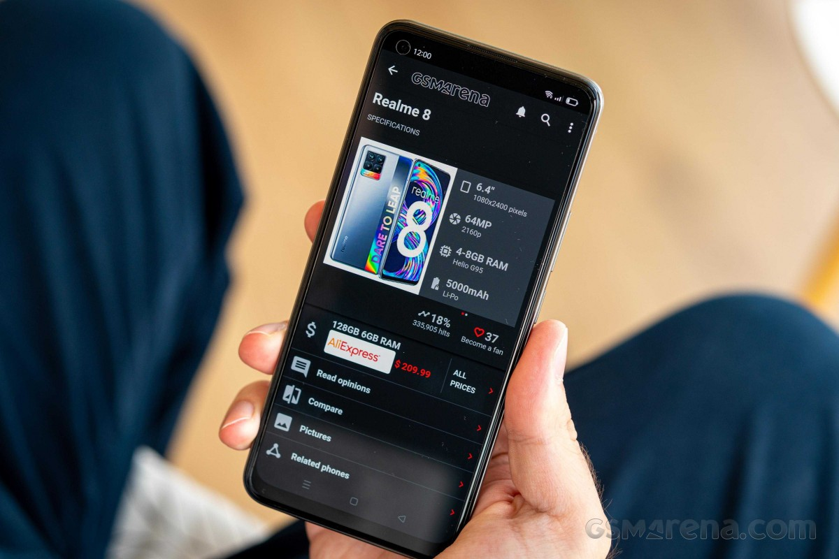 Check out our Realme 8 video review