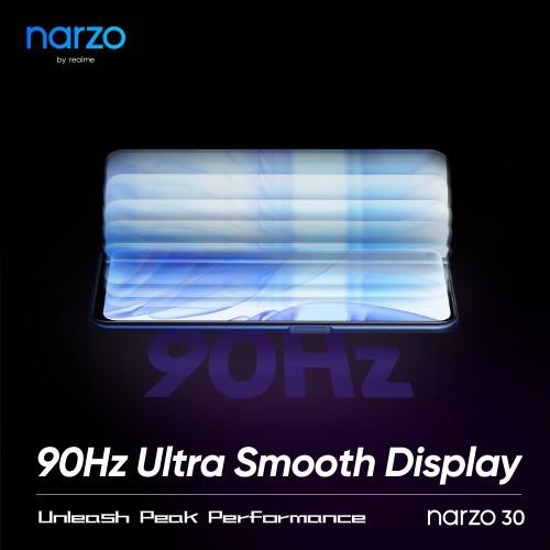 Realme Narzo 30 officially confirmed to pack a 90Hz screen