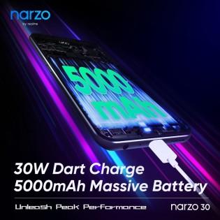 Realme Narzo 30 confirmed specs