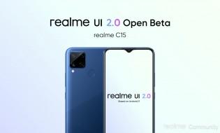 Realme C12 and Realme C15 eligible for Realme UI 2.0 Open Beta
