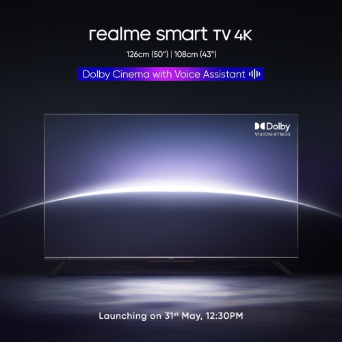 Realme X7 Max 5G is arriving on May 31, Smart TV 4K will tag along