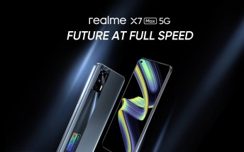 Watch the Realme X7 Max 5G launch live