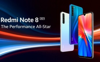 Redmi Note 8 2021's chipset, camera, and display detailed
