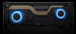 APUs da série H de 35 W com refrigeração por ventilador duplo