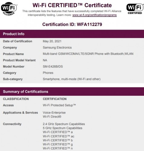 Samsung Galaxy F42 5G moves a step closer to launch as it gets Wi-Fi certified