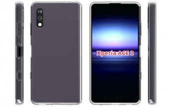 Sony Xperia Ace 2 appears in case renders