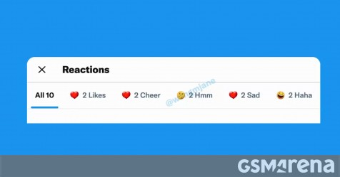Twitter is working on more tweet reactions, similar to Facebook