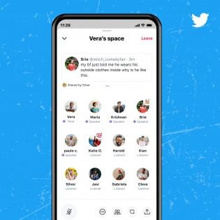 Visualizando um Espaço no Twitter