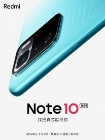 Xiaomi posters about the Note 10 arrival