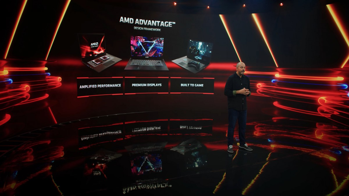 AMD announces RX 6000M series mobile graphics and FidelityFX Super Resolution
