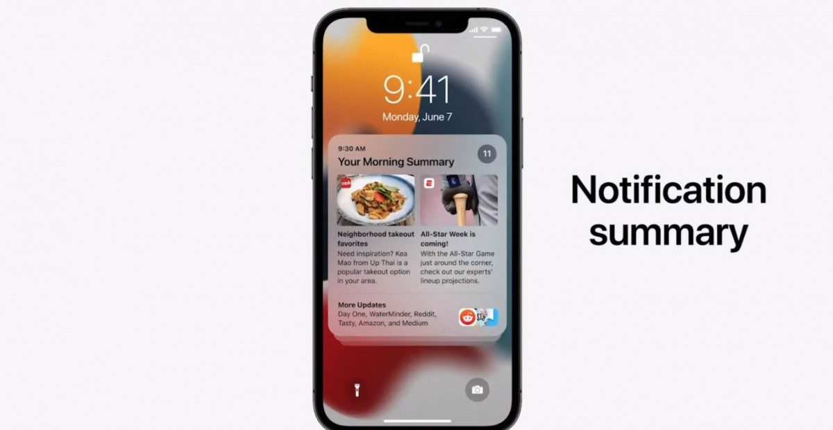 Notifikasi baru di iOS 15.