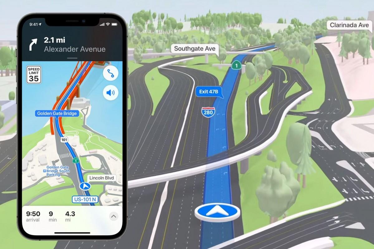 Fitur Maps di berbagai negara akan didesain ulang
