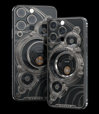 Caviar's Parade of the Planets Titanium, based on iPhone 13 Pro