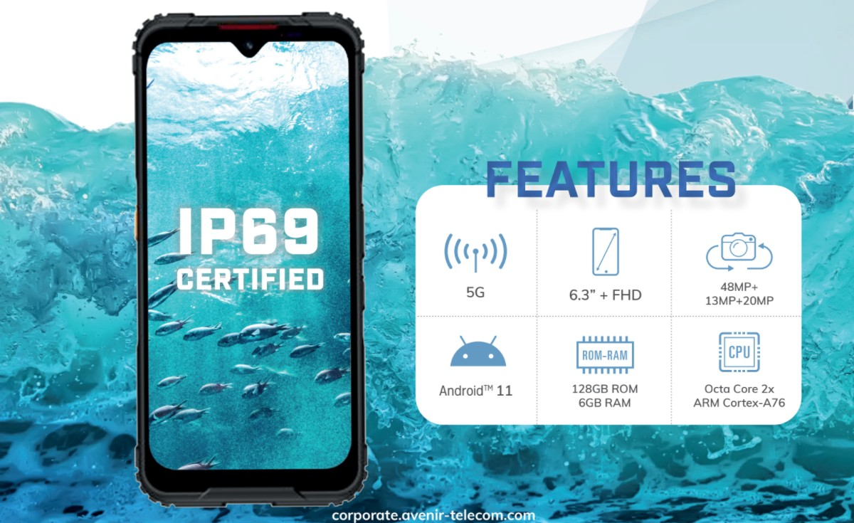 Energizer Hard Case G5 is the brand's first 5G phone, Ultimate U680S (4G) also unveiled