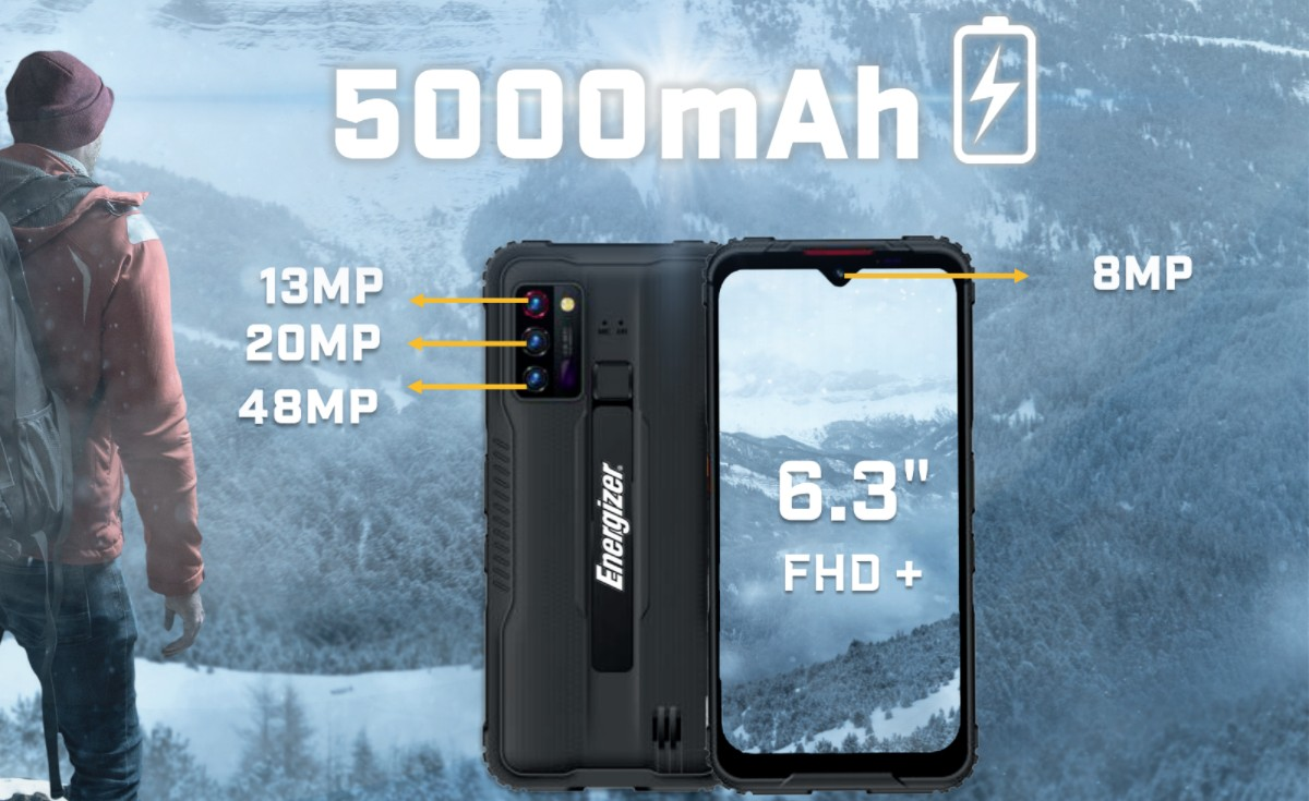 Energizer Hard Case G5 is the brands first 5G phone, Ultimate U680S (4G) also unveiled