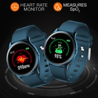 Heart rate and SpO2 tracking