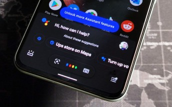 Google Assistant will begin showing response bubbles as large bold text instead