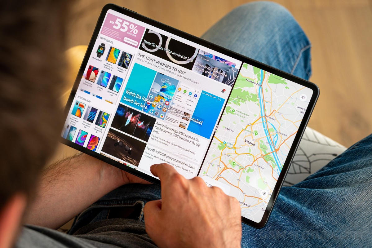 Our Huawei MatePad Pro 12.6 (2021) video review is out - our first encounter with HarmonyOS 2.0