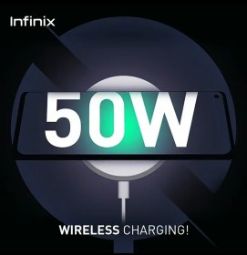 The Infinix Zero X with 160W fast charging will allegedly also support 50W wireless charging