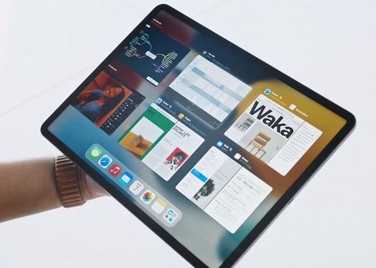 iPadOS 15 gets widgets on the home screen, more multitasking