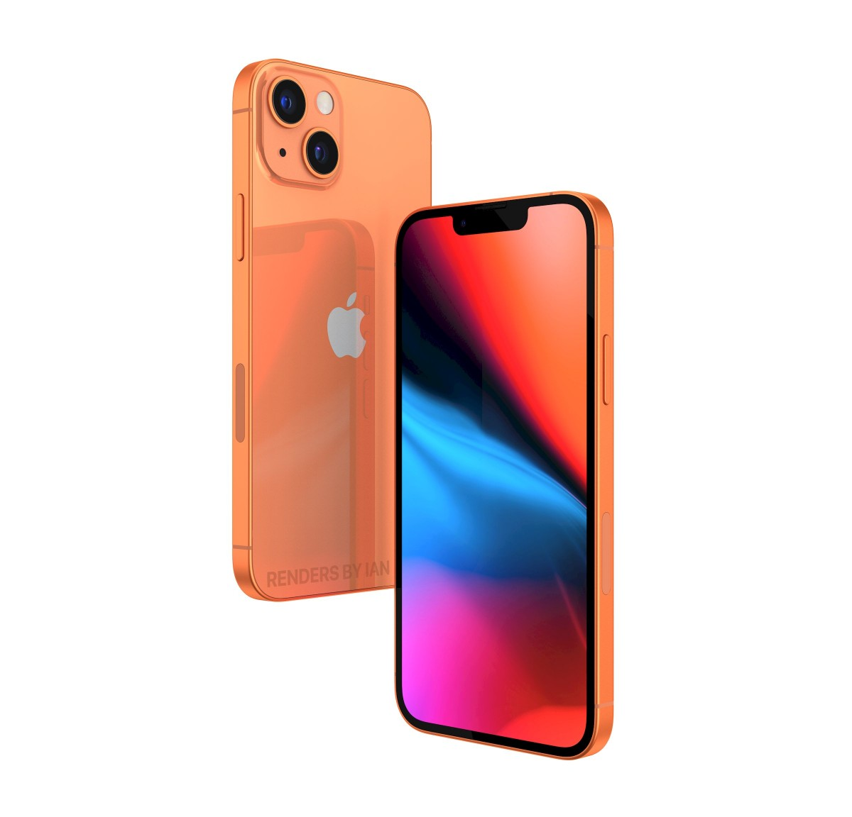 Apple iPhone 13 to add an orange color to its palette - GSMArena.com news