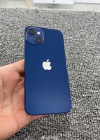 iPhone 13 mini prototype photographed in blue