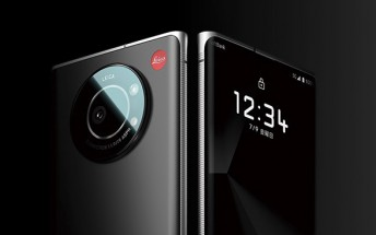 Leitz Phone 1 is a Leica-branded phone exclusive to Japan