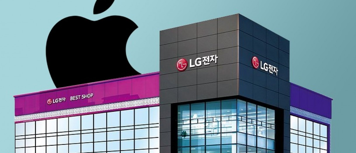 LG could do the change to selling iPhones in its stores