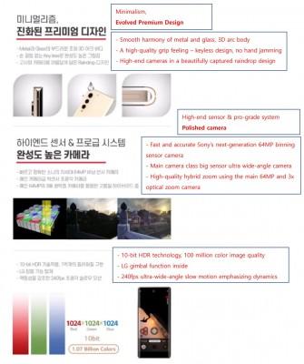 LG Velvet 2 Pro specs