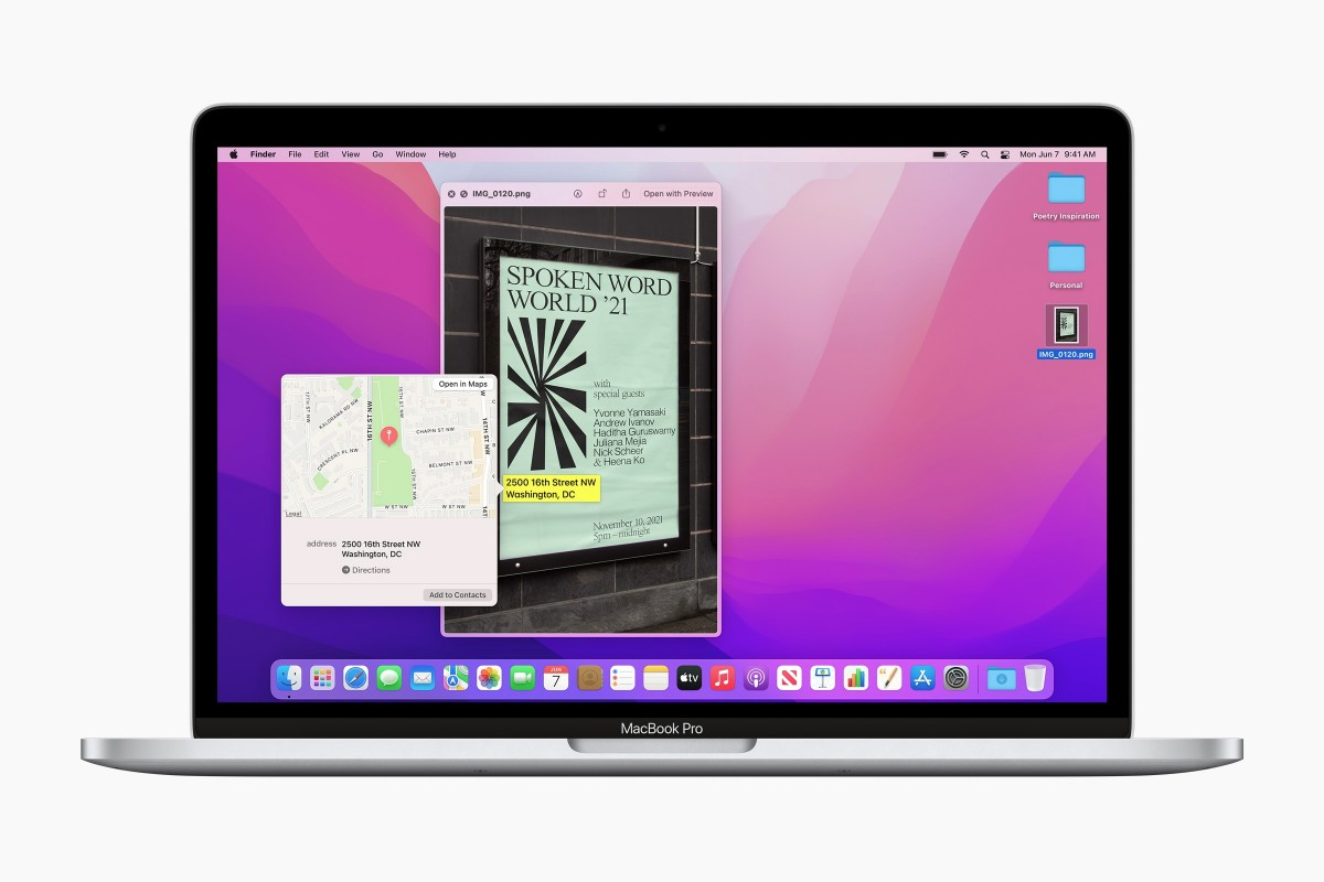 Apple releases macOS Monterey with Universal Control and Shortcuts