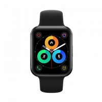 The Meizu Watch comes in two colors: black and mint