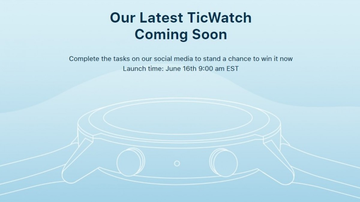 Mobvoi TicWatch E3 specs and design revealed in unbox video could arrive on June 16