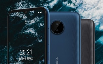 Nokia C20 Plus announced with Android Go, 6.5