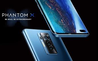 Tecno unveils Phantom X - its first premium phone with 50MP main and 48MP selfie cameras