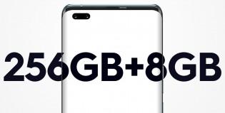 Konfigurasi memori 8/256 GB