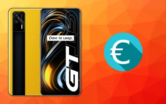 The Realme GT will cost €550 in Europe