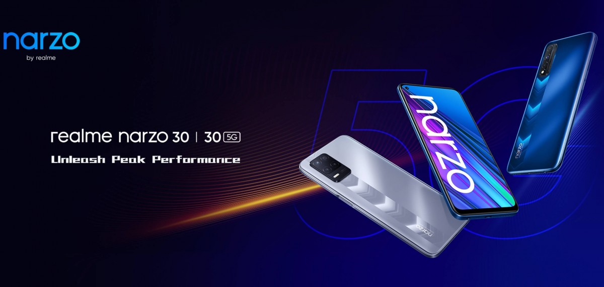Realme Narzo 30 4G and 5G's India launch set for June 24, Smart TV 32'' will tag along