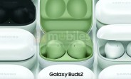 Samsung Galaxy Buds2 leaked images reveal design and color options