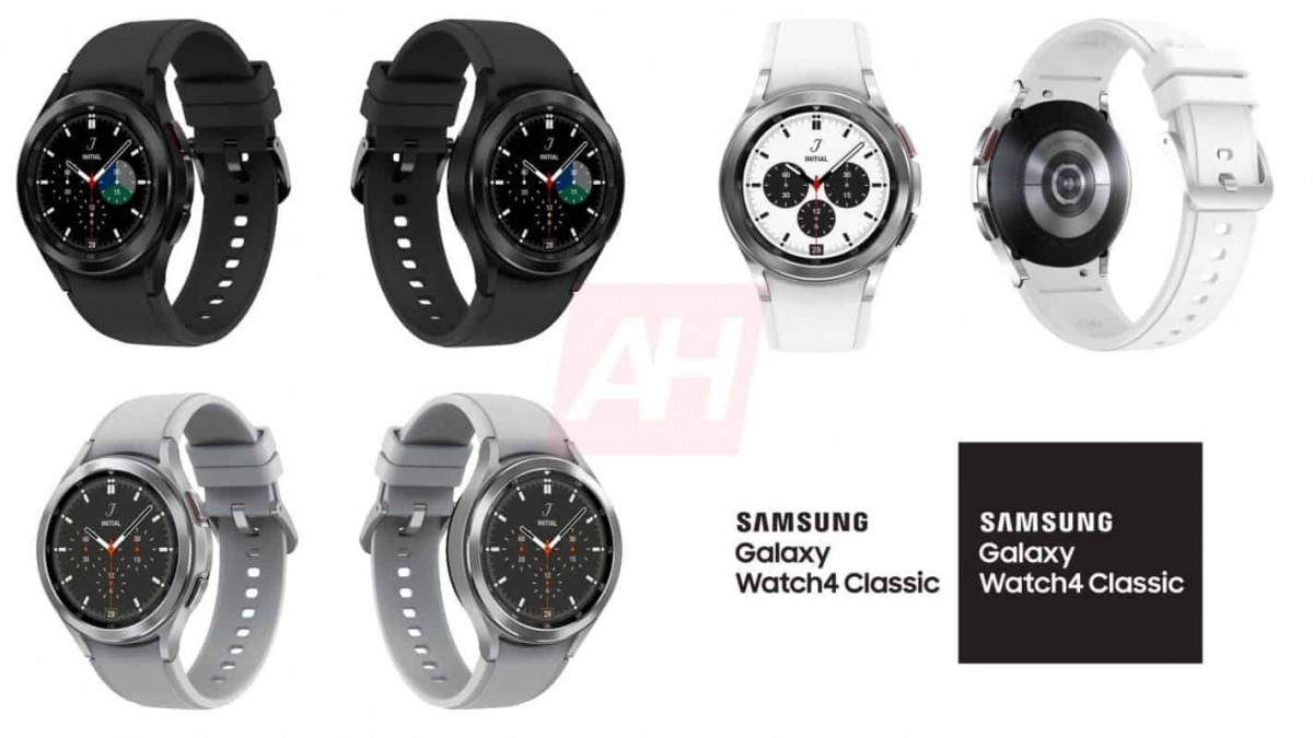 Samsung Galaxy Watch4 Classic leaks in all its glory, rotating bezel in tow