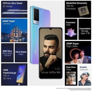 vivo V21e 5G key features