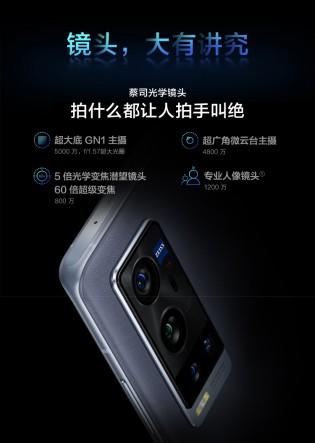 Camera details: vivo X60t Pro+ (left)