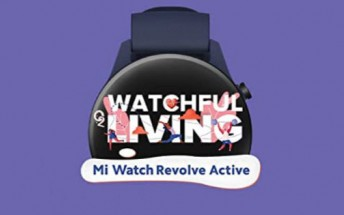 Xiaomi Mi Watch Revolve Active coming to India on June 22