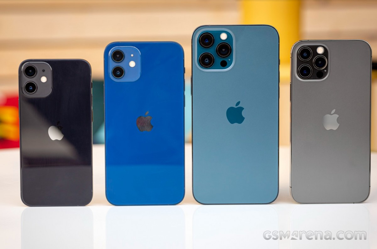 Apple iPhone 12 mini, iPhone 12, iPhone 12 Pro Max, iPhone 12 Pro
